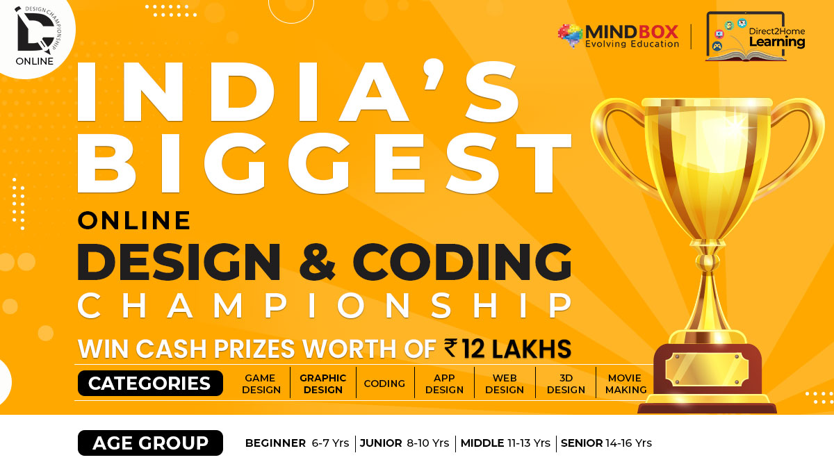 India's Biggest Online Design & Coding Championship is Back – Bigger & Better!