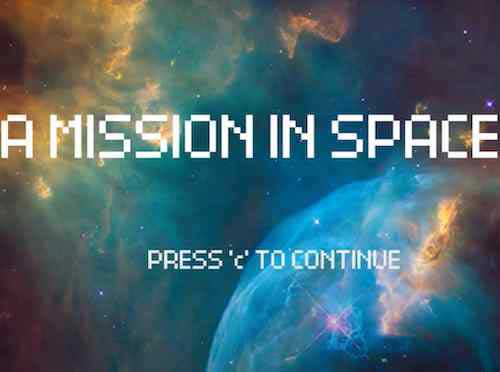 A-mission-in-space